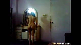 Indian Girl Records Herself Naked At Home